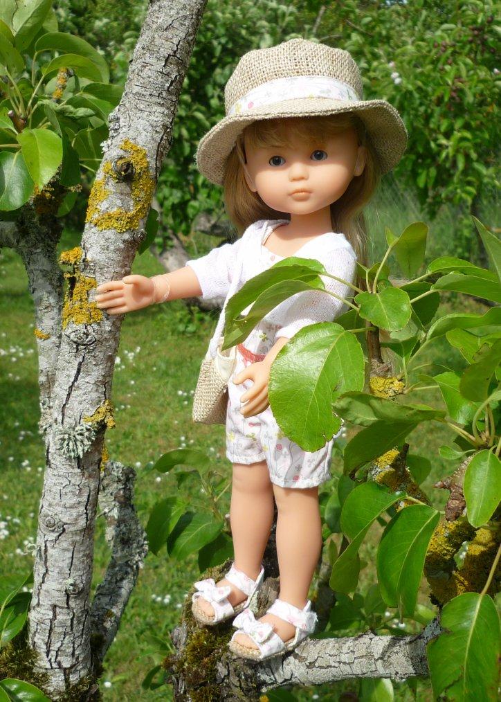 Camille Chérie dans les arbres !
