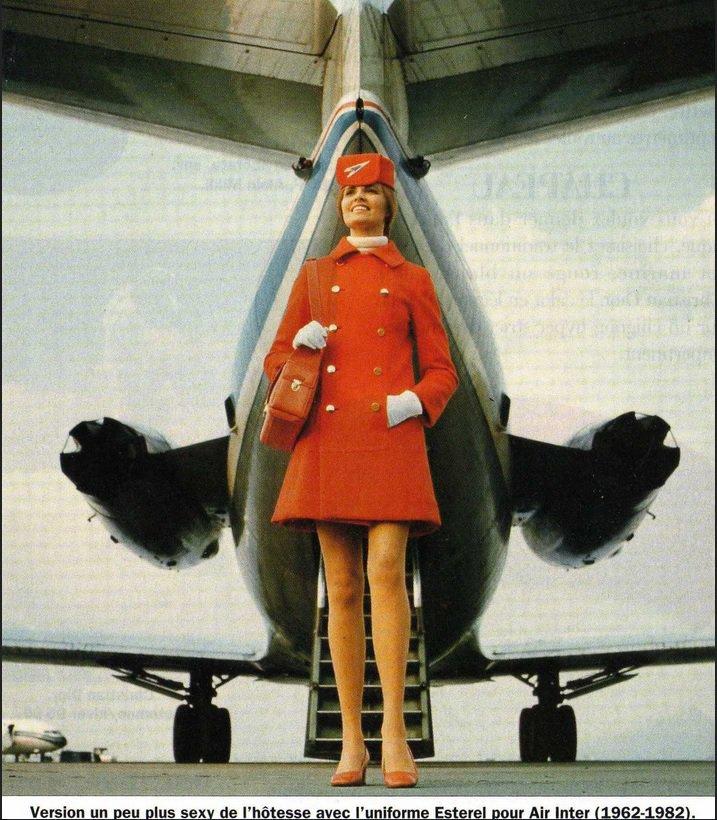 Air hôtesse  réf : 1920-95
