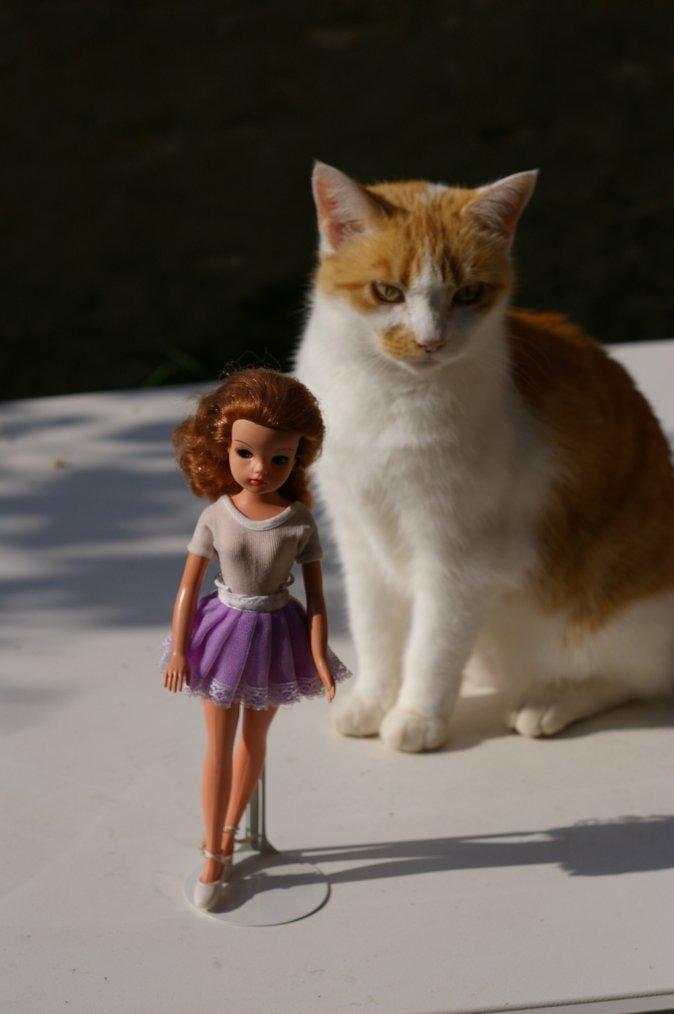 La rousse et la poupée ^^