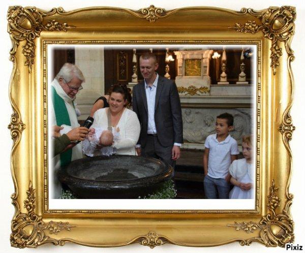 le baptême de 2017
