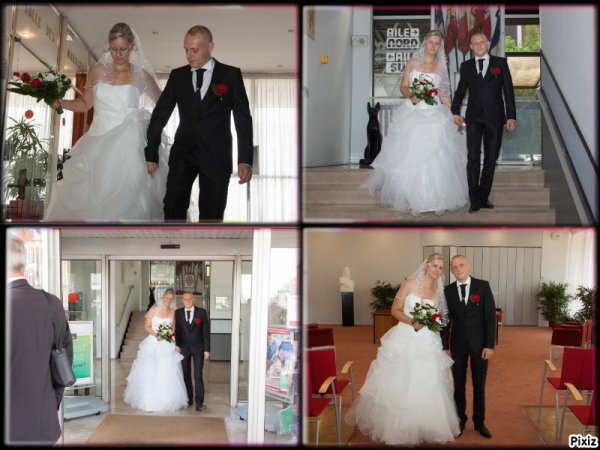 mariage de ma fille   Émilie 2017 n 2 ++et yayaje  beaucoup de bonheur
