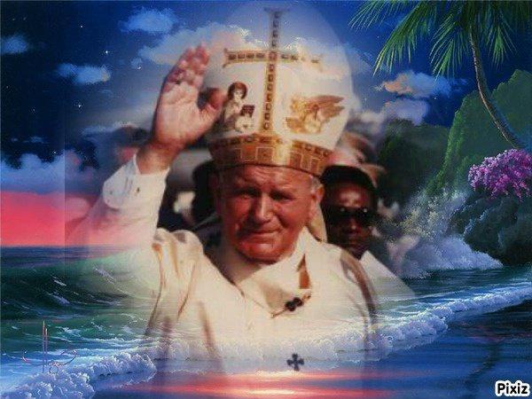 le pape Jean-Paul II ♥ஐﻬ♥ ♥ஐღ♥ஐﻬღ♥