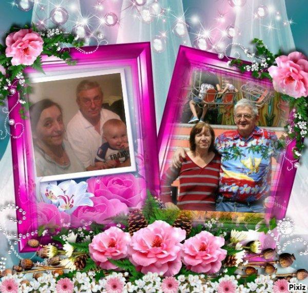 les deux grand mères. les. deux  grand-père +2017★★★.✿.★*.♥.★*.✿.*★.♥.✿★