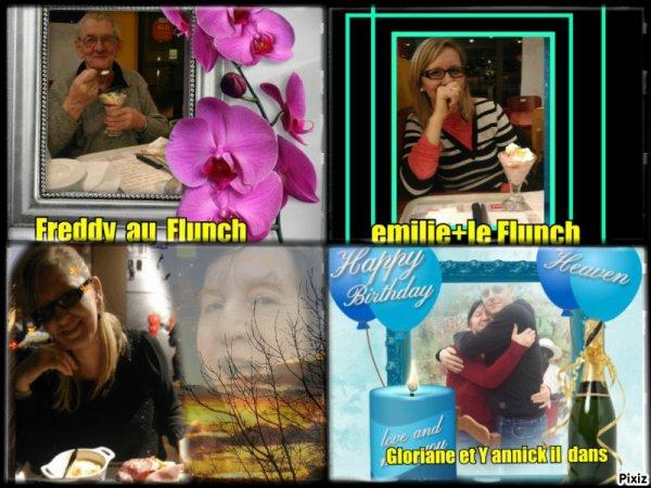 Gloriane  Emili  Freddie Gloria Yannick