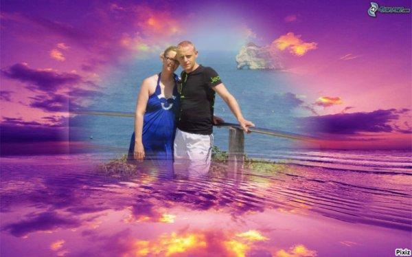 ma fille Émilie avec mon beau garçon Yannick ۩♥۩♥۩♥۩♥۩♥۩♥۩♥۩♥۩♥۩♥☆★