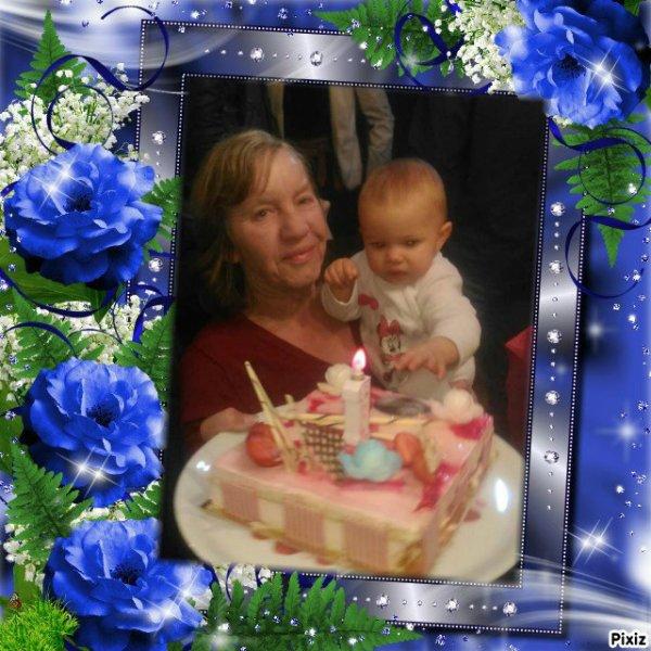 Gloriane et sa petite fille  2018 Freddy et son grand-père anniversaire ★★★★