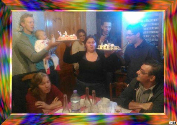 Jérôme et claire  l'anniversaire de sa fille 2018 et ses parents et ses amis  ♫ ♥ ♫ ♥