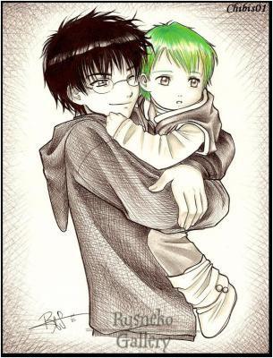 Harry et son filleul Teddy