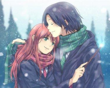 Lily et Severus!