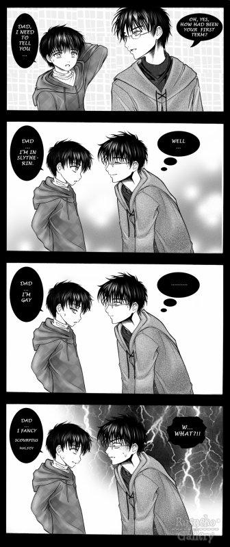 Harry et Albus Severus humour