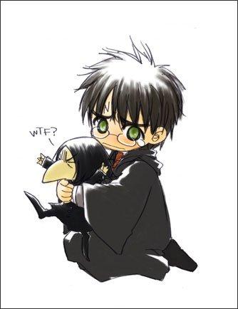 Harry et poupée Severus ^_^