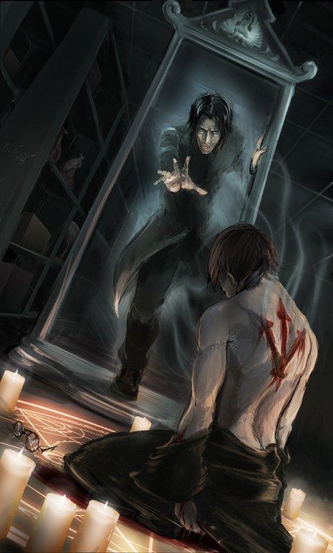 Harry et Severus ...