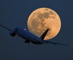 Je m'envole vers la lune!!!