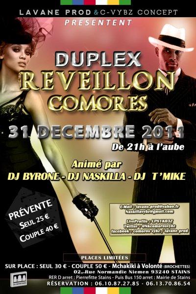 Duplex Reveillon Comores