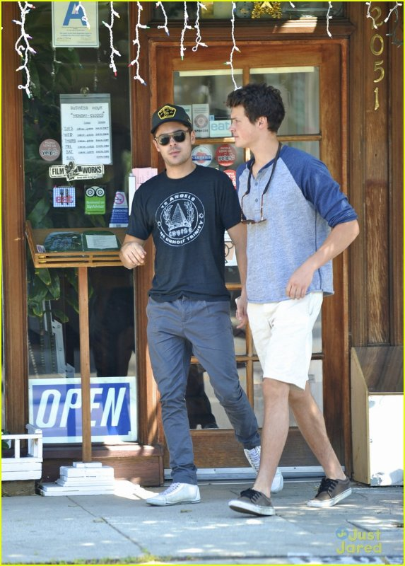 Dylan and Zac Efron :)