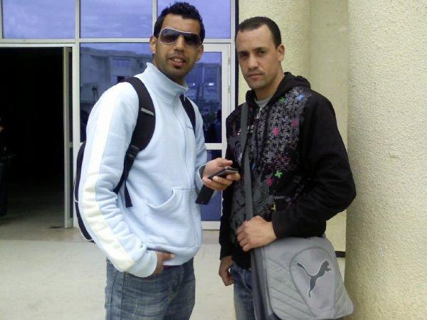 me & samir mon cousin
