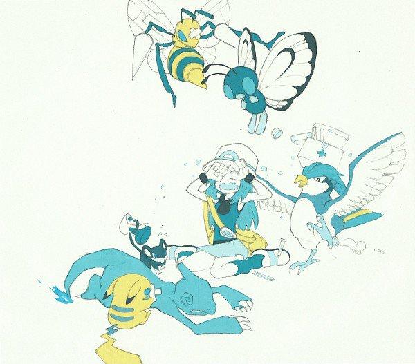 Fanart de Blue