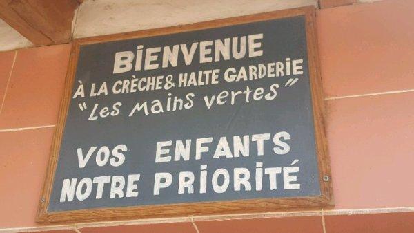 """""""Ma crèche s'appelle Les Mains Vertes"""""""