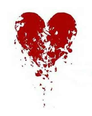 un coeur briser en 1000 morceaux