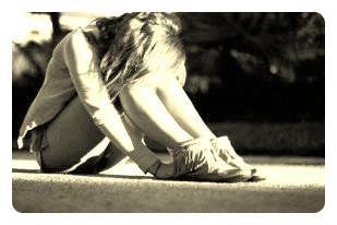 Se retrouver seule, face à ce monde, sans ne pouvoir rien faire ...