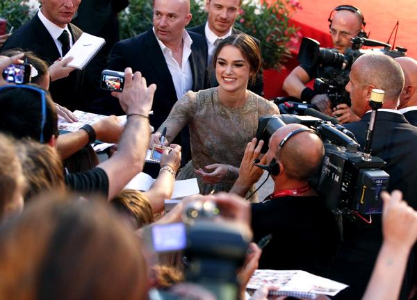 68th Venice Film Festival: 'A Dangerous Method' Premiere.