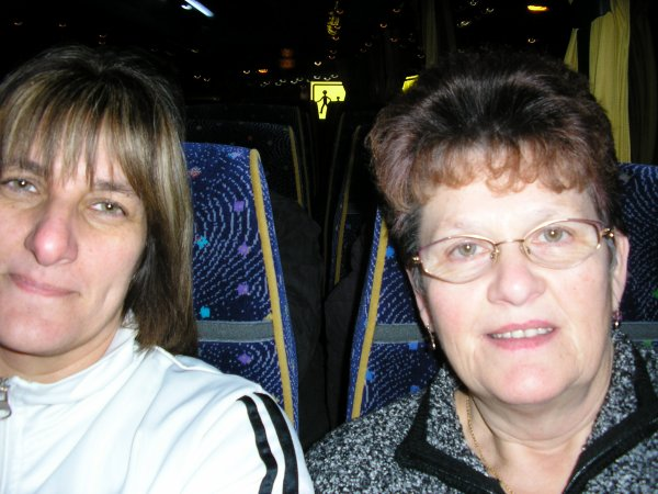 Dans le bus direction la Hollande