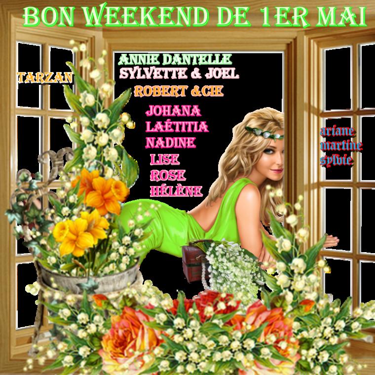 bon weekend  de 1er mai