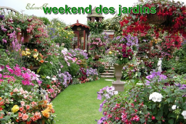 weekend des jardins