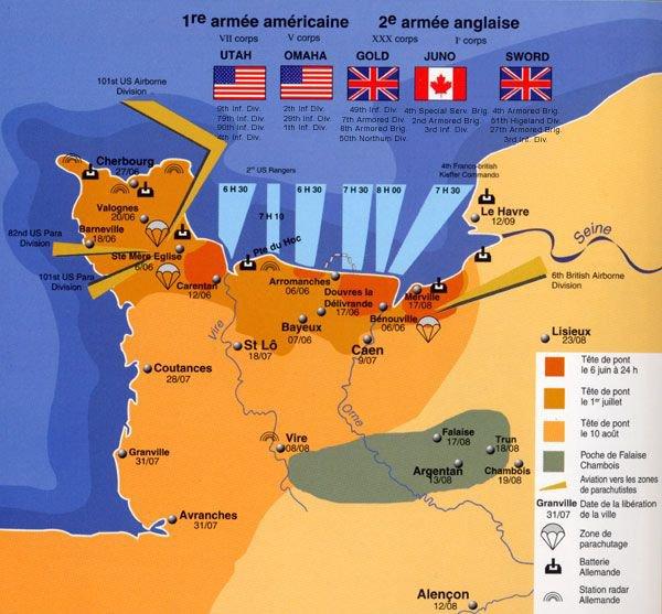 SOUVENIR D DAY  6JUIN 1944