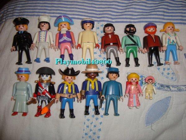 Les Playmobil de mon enfance