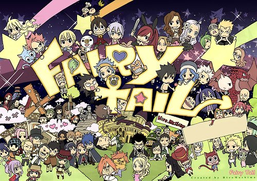 fairy tail dessin
