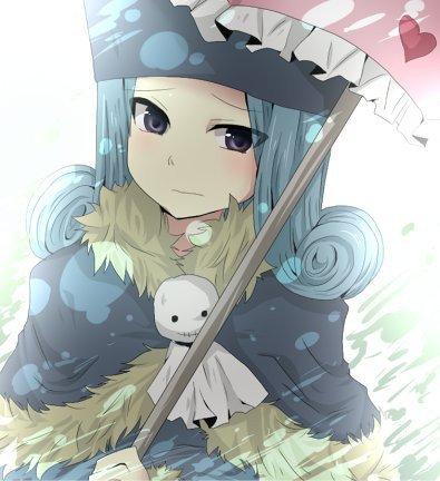jubia et son parapluie