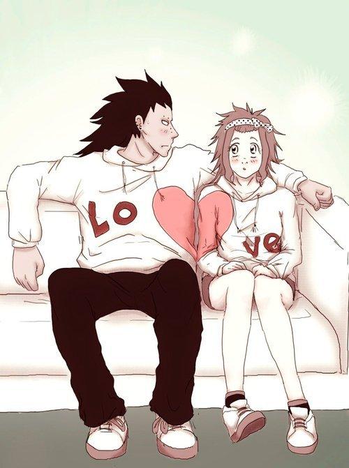 gajeel et levy coeur
