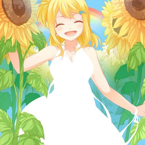 Lucy de bonne humeur