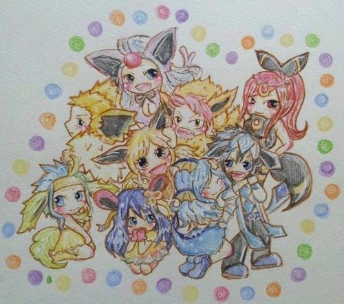 fairy tail version pokémon