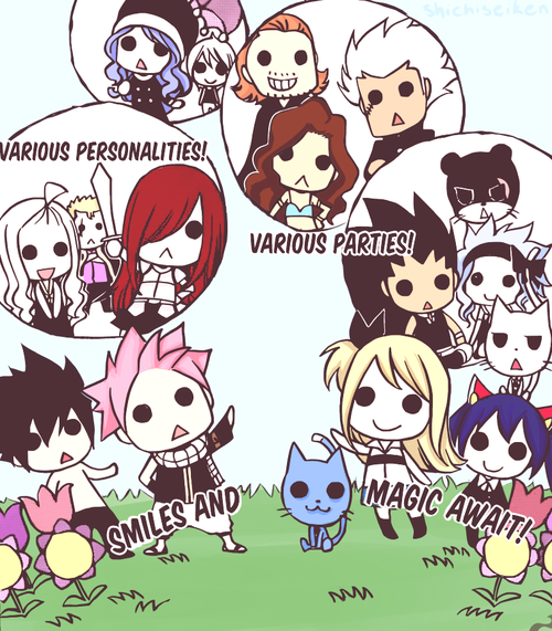 fairy tail en poupées