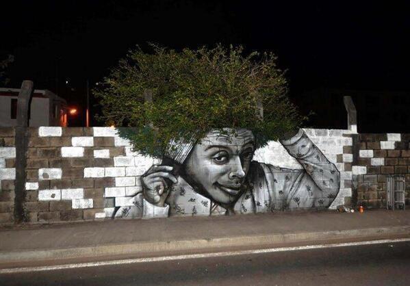Quand l'art se mêle à la nature...