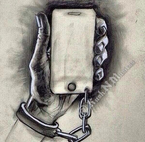 On est trop dépendant de la technologie..