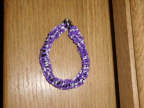 bracelet élastique torsade