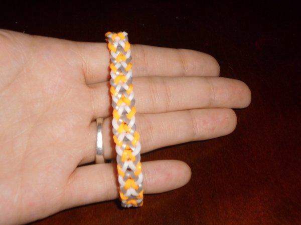 bracelet brésilien en élastique