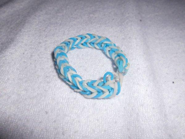 bracelets double tresser en élastique