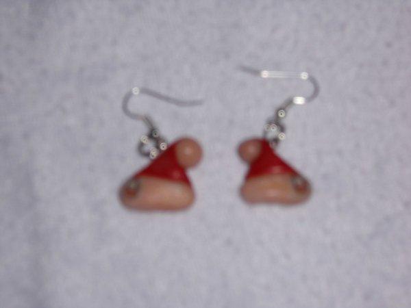 boucles d'oreilles fimos