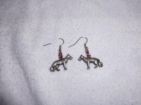 boucles d'oreilles chiens