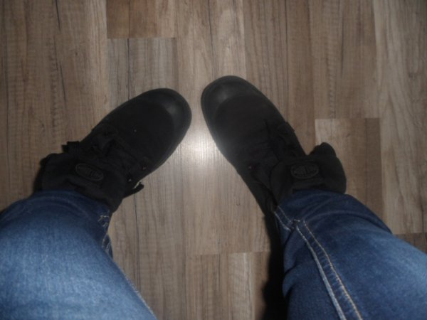 oups encore mes pied mdr