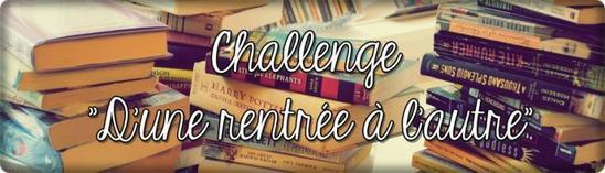 Challenge d'une rentrée à l'autre 2013 - 2014