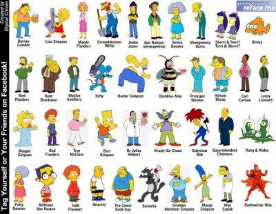 Je vous presente tout les personnage de la serie les simpson blog de narusasux5 - Les simpson tout nu ...