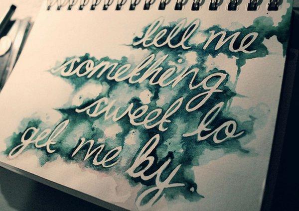 ~ L'amour est la poésie des sens.