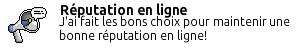 Badge Réputation En Ligne
