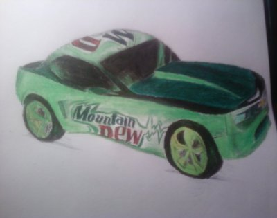i'm not sure what car i drew but it looks ridable to me lol