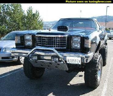 Ford Ranchero 4x4 1979